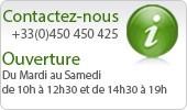 Notre service client est disponible au 09 51 72 94 48.