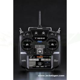 Radiocommande Futaba T16SZ 2.4 GHZ M2 + R7008SB + chargeur