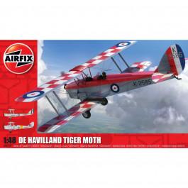 Maquette d'avion De Havilland DH82a Tiger Moth 1/48