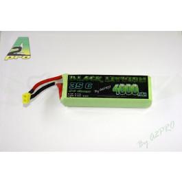 Black lithium 4000mah 35c 6s (connecteur XT60)