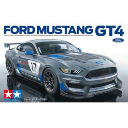 Maquette de Ford Mustang GT4 1/24