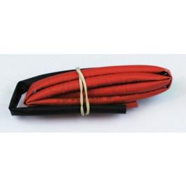 Tube thermo noir et rouge 5mm de diam. 2x50cm
