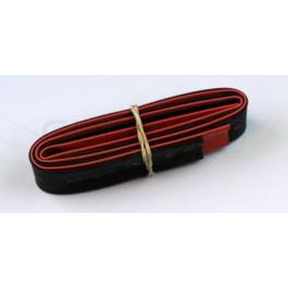 Tube thermo noir et rouge 12mm de diam. 2x50cm