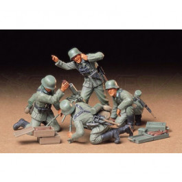 Mortier Allemands et servants 1/35