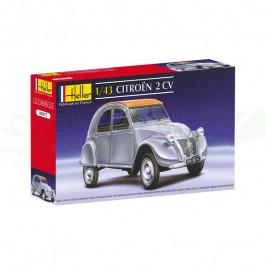 Maquette de Citroën 2CV 1/43