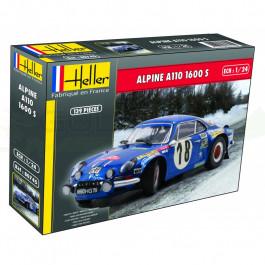 Maquette de Alpine A110 1600S 1/24