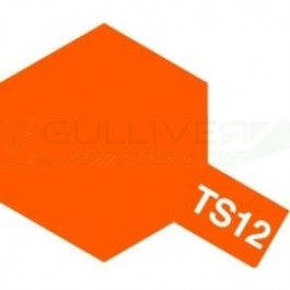 Bombes de peinture Orange Brillant TS12 Tamiya