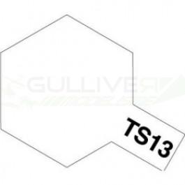 Bombes de peinture Vernis Transparent TS13 Tamiya