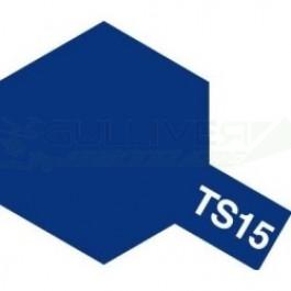 Bombes de peinture Bleu Brillant TS15 Tamiya
