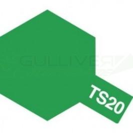 Bombes de peinture Vert Métallisé TS20 Tamiya
