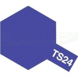 Bombes de peinture Violet Brillant TS24 Tamiya
