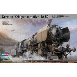 Maquette de locomotive allemande BR52 1/72
