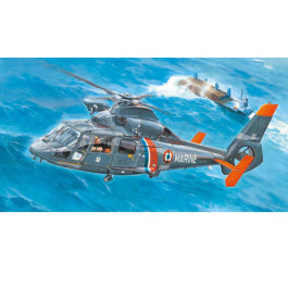 Maquette d'hélicoptère AS365N2 DOLPHIN 2 1/35
