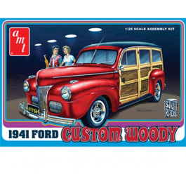Maquette de FORD WOODY 1941 1/25