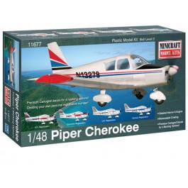 Maquette de Piper Cherokee 1/48