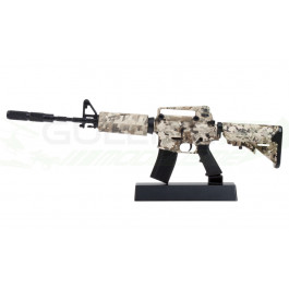 Miniature statique M4 camo Ghost