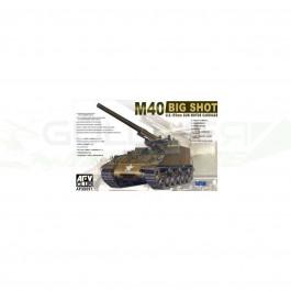 Maquette de char M40 Self-Propelled Gun (re-edition) 1/35