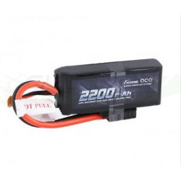 Batterie LI-PO Gens 7.4v 50c 2s 2200mah Connecteur TRX