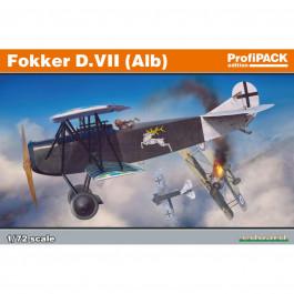 Maquette d'avion Fokker D.VII(Alb) 1/72
