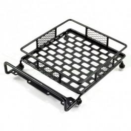 Galerie porte bagage aluminium noir taille M pour Crawler 1/10