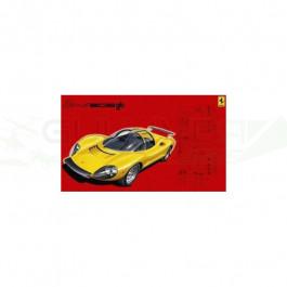 Maquette de Ferrari Dino 206 1/24 Fujimi