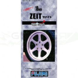 Jantes pour maquettes Tw-54 18inch Zeit 1/24 Fujimi