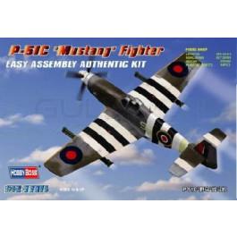 """Maquette de P-51C """"MUSTANG"""" FIGHTER (1/72)"""