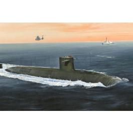 """Maquette de sous marin """"LE TRIOMPHANT"""" SSBN (1/350)"""