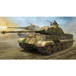 "Maquette de GERMAN Sd.Kfz.182 KING TIGER ""PORSCHE TURRET"" (1/35)"