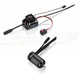 Combo brushless Xerun AXE540-1800KV FOC V1.1 ESC 60A Hobbywing