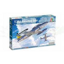 Maquette d'avion T-33A Shooting Star 1/72