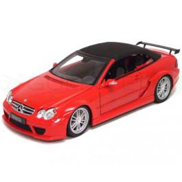 Miniature 1/18 Mercedes Benz CLK DTM AMG cabriolet rouge Kyosho