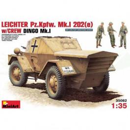 Leichter mk 1 202 avec équipage 1/35
