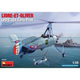 Maquette avion Liore et Olivier LeO C.30A Early Prod 1/35