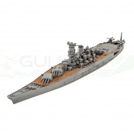 Maquette de bateau Musashi 1/1200 Easy kit