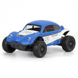 Carrosserie non peinte Vw Full fender Baja bug pour Slash Traxxas Proline