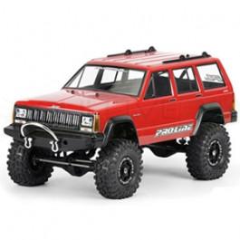 Carrosserie transparente Jeep Cherokee 1992 pour crawler 1/10