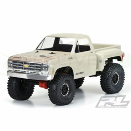 Carrosserie transparente 1978 CHEVY K-10 CAB&BED pour crawler