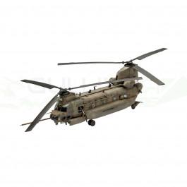 Maquette d'hélicoptère MH-47E Chinook 1/72