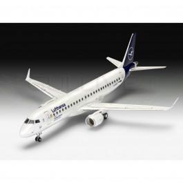 Maquette d'avion Embraer 190 Lufthansa 1/144  Easy kit