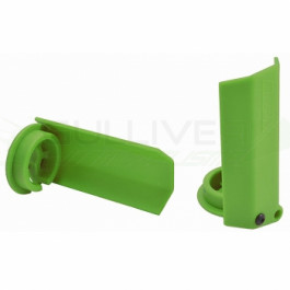 Protections amortisseurs RPM pour traxxas X-Maxx Vert (2pc)