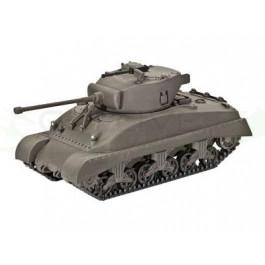 Maquette de char M4A1 Sherman 1/72
