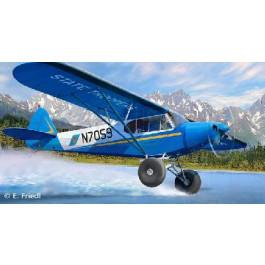 PIPER PA-18 avec PNEUS DE BROUSSE
