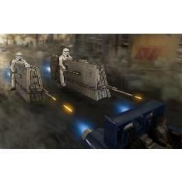 Maquette Star Wars Speeder Imperial Patrol
