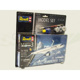 Maquette de Embraer 190 LUFTHANSA 1/144 - Model Set