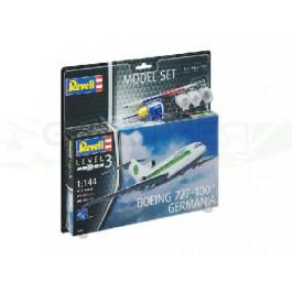 "Maquette de Boeing 727-100 ""Germania"" 1/144 - Model Set"