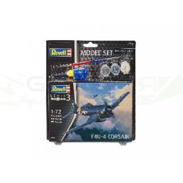 Maquette de F4U-4 CORSAIR 1/72 - Model Set
