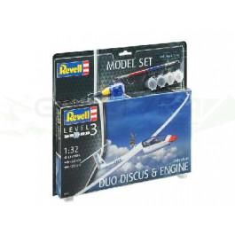 Maquette de Planeur duo Discus 1/32 - Model Set