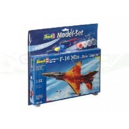 """Maquette de US F-16 Mlu """"Solo DIsplay"""" 1/72 - Model Set"""