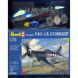 Maquette de VOUGHT F4U-1D 1/72 - Model Set